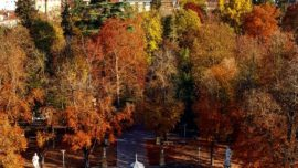 La Florida de Vitoria-Gasteiz en otoño